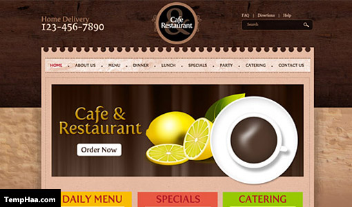 Cafe-and-Restaurant-Template-PSD-L